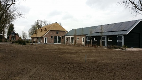 Project gazonaanleg Oldebroek.