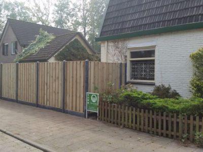Bestrating en schutting Apeldoorn