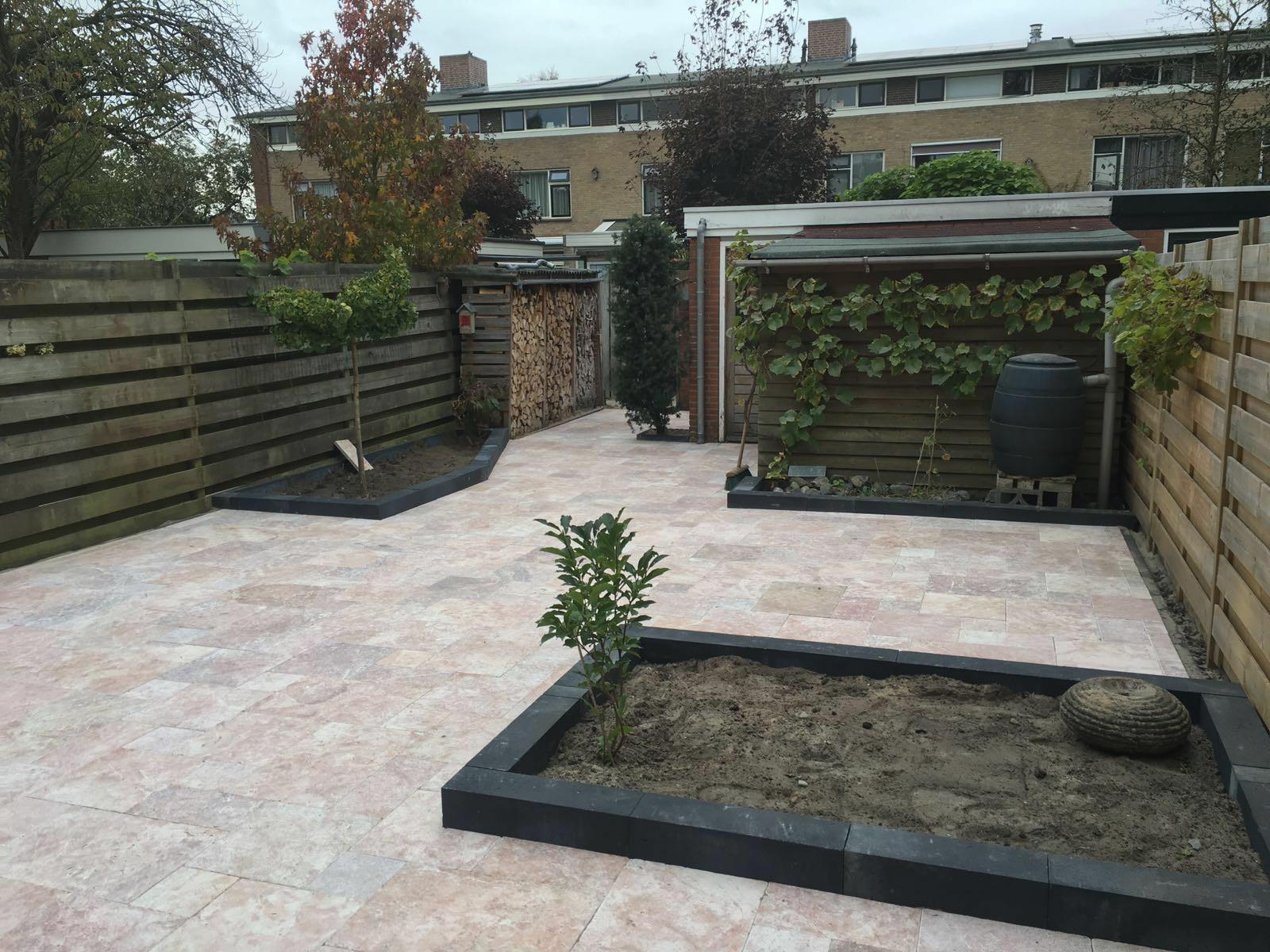 Renovatie achtertuin Ugchelen