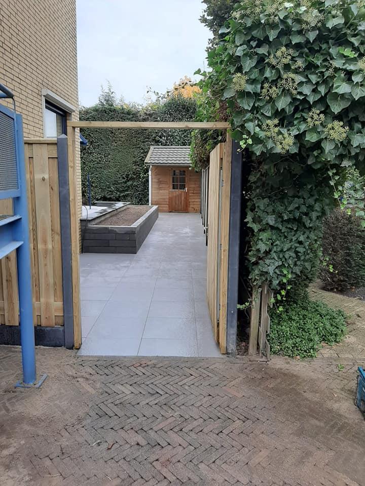 Project nieuw tuin